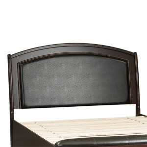 Avalon Queen Panel Leather Headboard