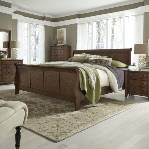 4pc Grandpas Cabin Bedroom Set