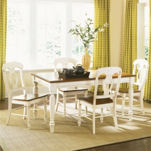 Low Country Opt 5 Piece Rectangular Table Set