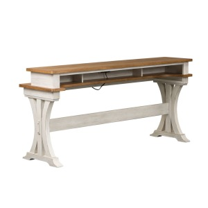 Farmhouse Reimagined Console Bar Table