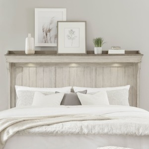 Ivy Hollow King Mantle Headboard