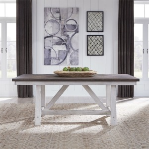 Farmhouse Fixed Top Trestle Table