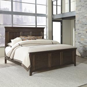 Saddlebrook King Panel Bed