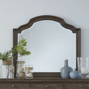 Homestead Scalloped Mirror