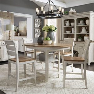 Farmhouse Reimagined Opt 5 Piece Gathering Table Set