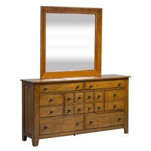 Grandpa's Cabin Dresser & Mirror
