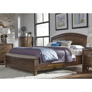 Avalon Queen Panel Storage Bed