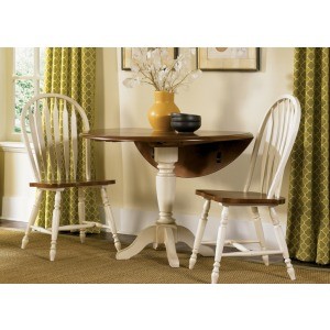 Drop Leaf Pedestal Table (79-T4242, 79-P4242)