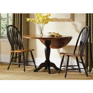 Drop Leaf Pedestal Table (80-T4242, 80-P4242)