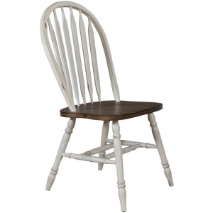 Carolina Crossing Windsor Side Chair- White