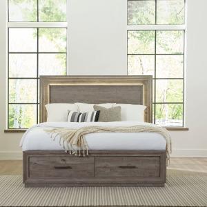 Horizons Queen Storage Bed