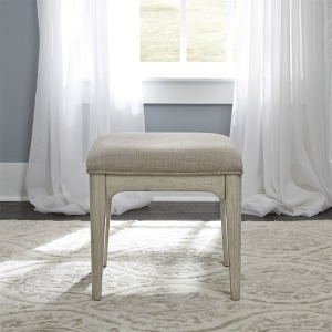 Farmhouse Reimagined Vanity Stool