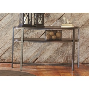 Breckinridge Demilune Sofa Table