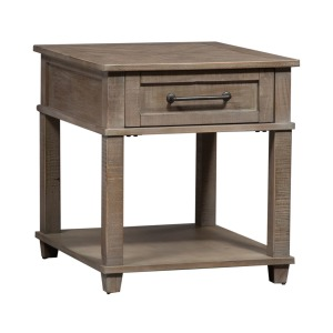 Parkland Falls Rectangular End Table