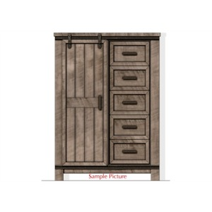 Thornwood Hills Sliding Door Chest