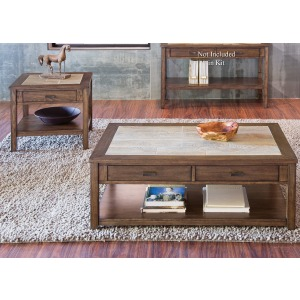 Mesa Valley 3 Piece Set (1-Cocktail 2-End Tables)