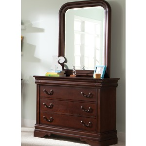 Carriage Court Dresser & Mirror