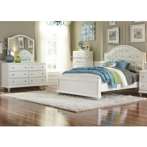 Stardust Full Panel Bed, Dresser & Mirror