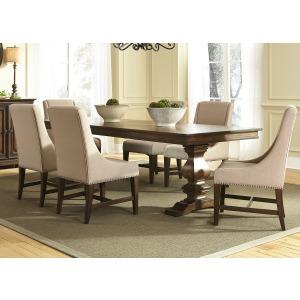Armand 7 Piece Trestle Table Set