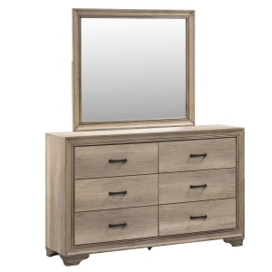 Sun Valley Dresser & Mirror