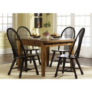 Treasures Retractable Leg Table - Oak