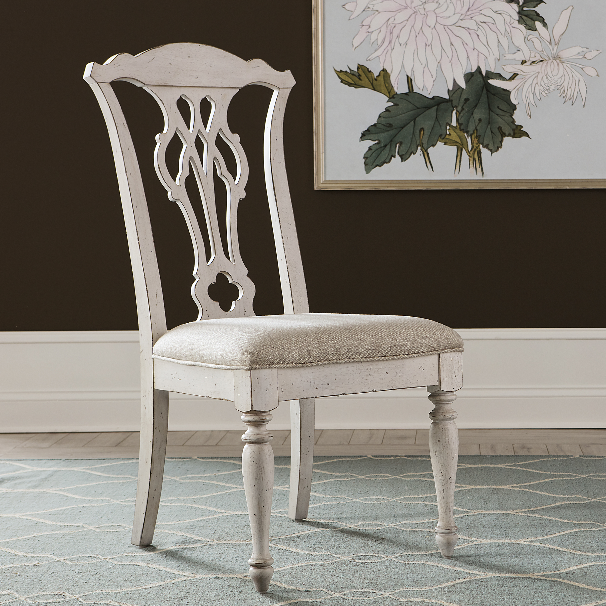 Abbey Road Splat Back Side Chair Rta By Samuel Frederick Furniture Nis187015759 The Furniture Mall