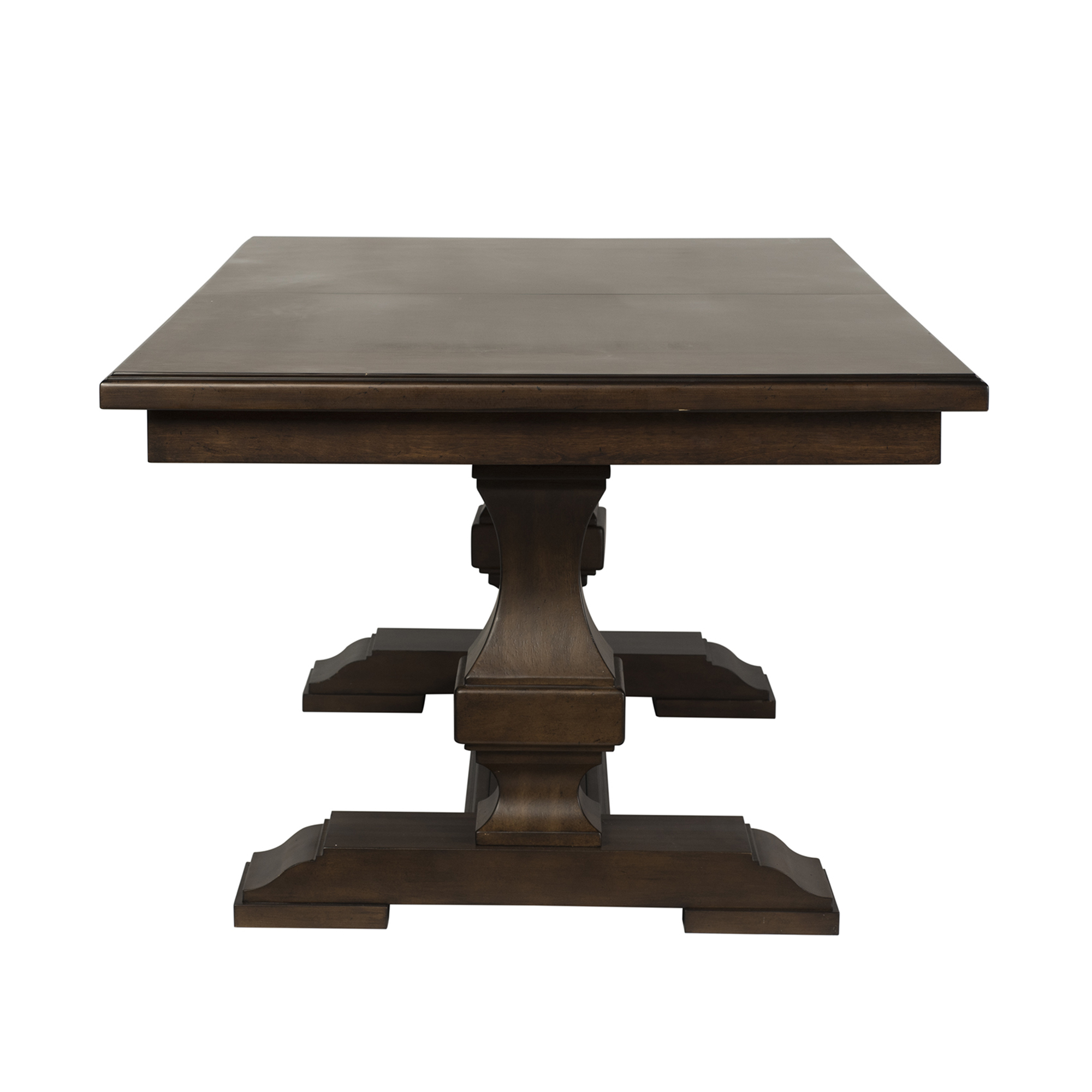 5 Piece Double Pedestal Table Set By Samuel Frederick Furniture The Furniture Mall