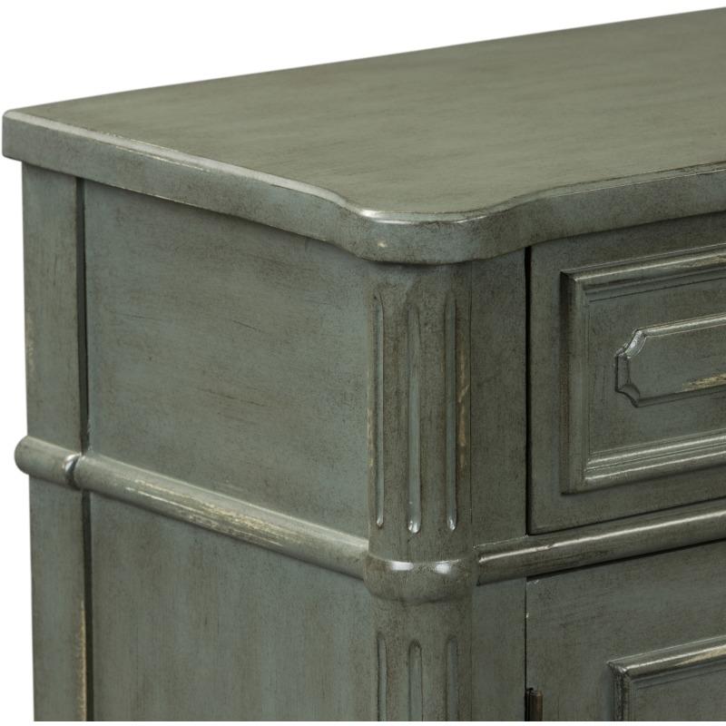 1 Drawer 2 Door Accent Cabinet