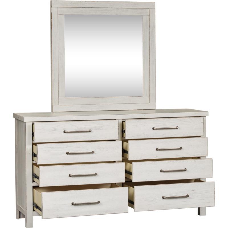 Modern Farmhouse Dresser & Mirror