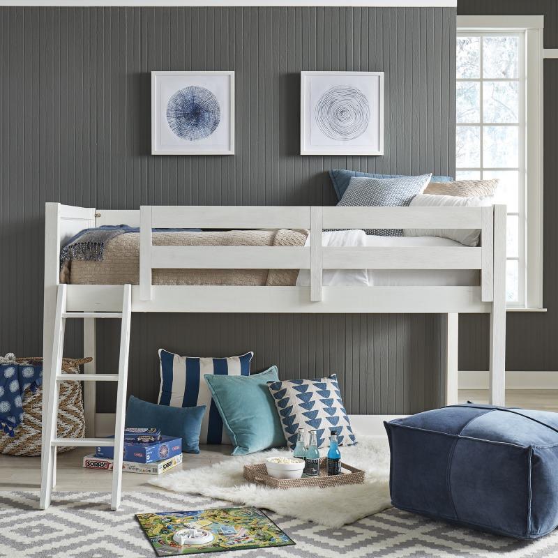 Allyson Park Twin Loft Bed Open