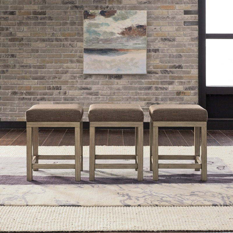Console Stools (3 Piece Set)