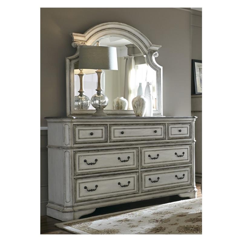 Magnolia Manor Dresser & Mirror
