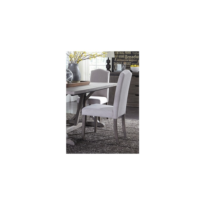 Carolina Lakes Upholstered Side Chair - Tan
