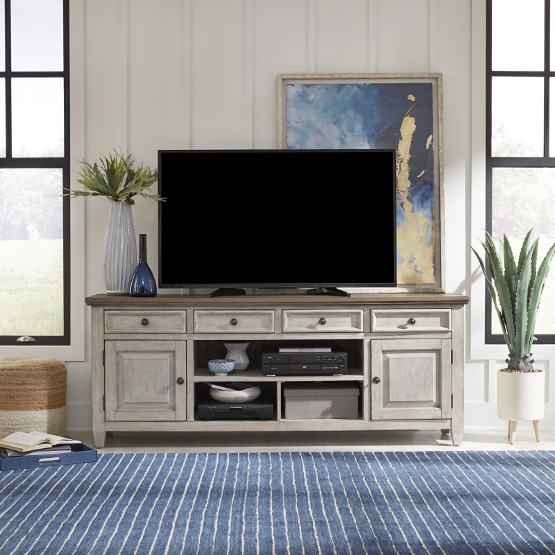 76 Inch Tile TV Console