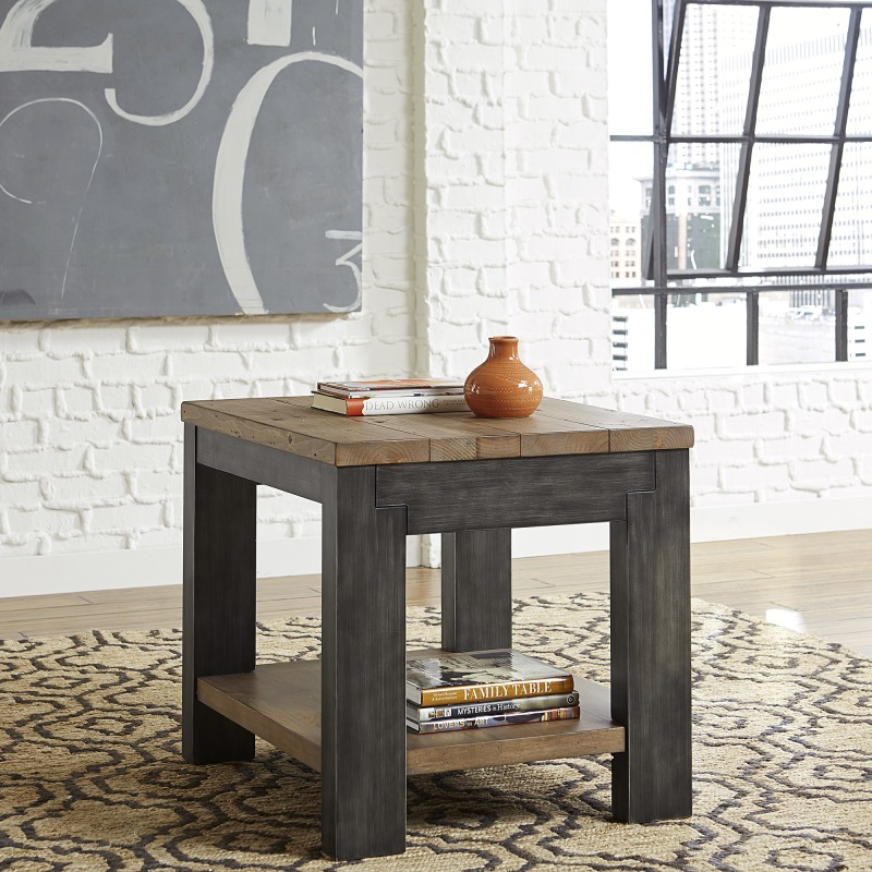 Rect End Table