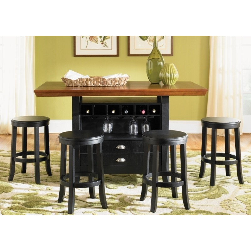 Center Island Table By Liberty Furniture