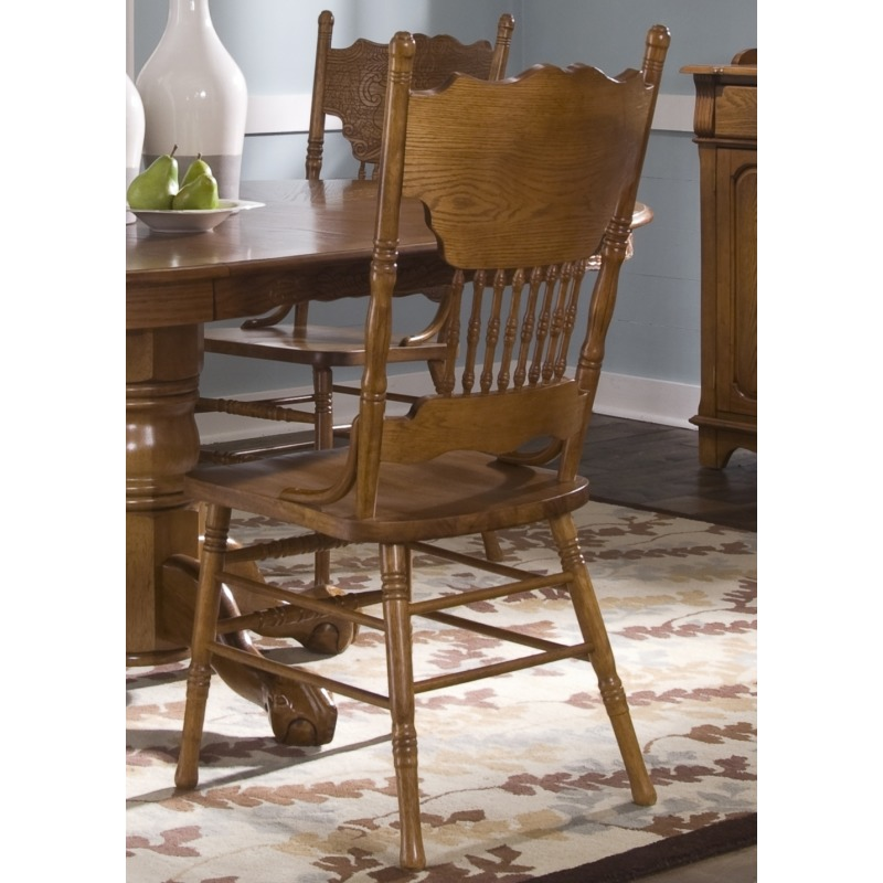 Double Press Back Side Chair (10-C517S)