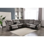 New Belair 6 PC Power Reclining Sectional - Elephant