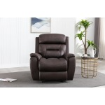 80153 Power recliner  with power headrest Mustang Chocolate -2.jpg