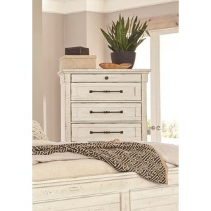 6 Drawer Chest - Antique White