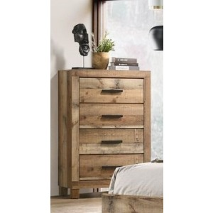4 Drawer Chest - Antique Natural