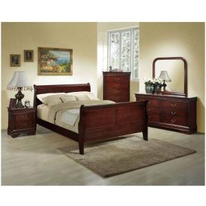5 PC Bedroom Set - Cherry