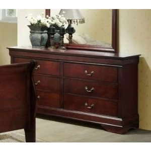 6 Drawer Dresser - Cherry