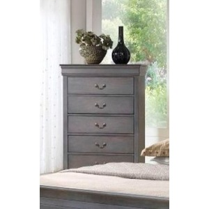 5 Drawer Dresser - Grey