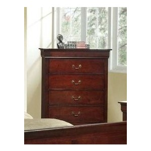 5 Drawer Chest - Cherry