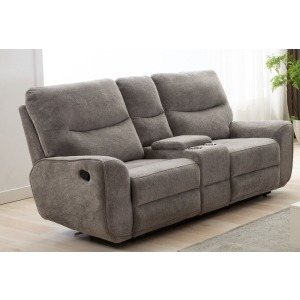 Motion Console Loveseat - Oatmeal