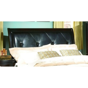 King PU Headboard - Espresso