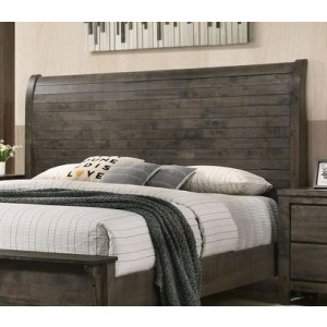 King Headboard - Grey