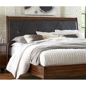 King Headboard - Brown