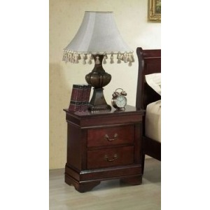 2 Drawer Nightstand - Cherry